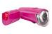 Trelock LS350 I-go Sport + LS710 Reego fietsverlichting roze